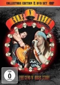 Cover Guns N' Roses - The Guns N' Roses Story [DVD]